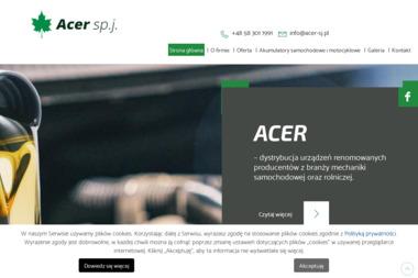 Acer. S.j. Akumulatory, pasy klinowe, silniki elektryczne - Rozdzielnice Elektryczne Gdańsk