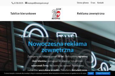 Scan-Motopol - Identyfikacja wizualna Katowice