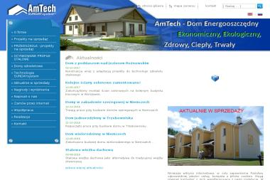 AmTech Spółka z o. o. - Projekty Małych Domów Głogów Młp