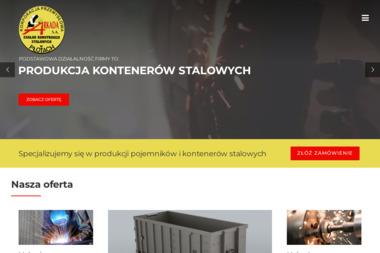 Arkada SA. Zakład konstrukcji stalowych. Producent kontenerów samochodowych - Zaplecze budowlane Płoty