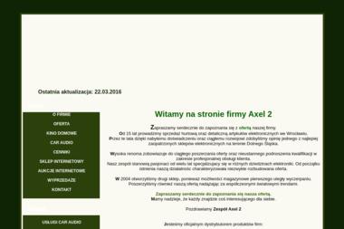 Axel Electronics II. Podzespoły elektroniczne i elektryczne. Tomasiewicz Z. - Części i podzespoły elektroniczne Wrocław