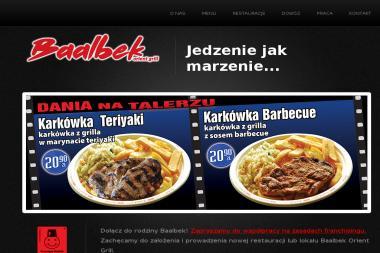Baalbek Orient Grill Bydgoszcz Opinie Kontakt