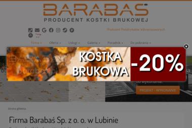 Barabaś Firma. Betonowe materiały wibroprasowane, kostka brukowa, krawężniki - Ogrody Zimowe na Balkonie Lubin