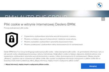 Auto Fus. Tadeusz Fus. Dealer BMW i Mini - Samochody osobowe Warszawa