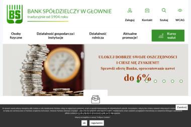 Bank Spółdzielczy - Rachunki bankowe Głowno