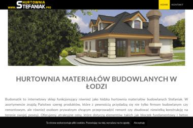 Budomatik Sp. z o.o. Projekty powierzchni płaskich. Materiały i usługi budowlane - Budowanie Domów Pod Klucz Justynów gm. Andrespol