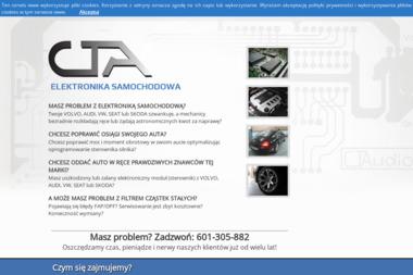CTA. Elektronika Samochodowa. Grupa UV, Volvo - Monitorowanie pojazdów Warszawa