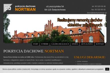 Nortman Robert. Przedsiębiorstwo budowlane - Pokrycia dachowe Leszno