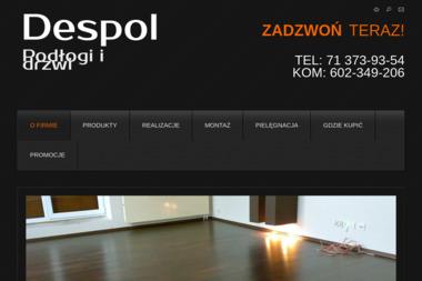 Despol. Autoryzowany dealer Barlinek SA. Sprzedaż, serwis - Panele Wrocław