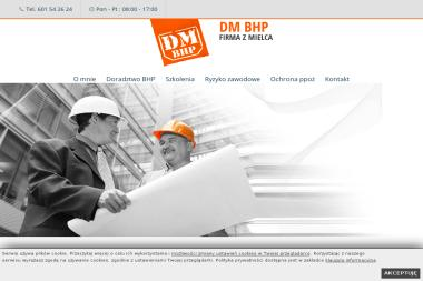 DM. Doradztwo bhp - Szkolenia BHP Online Mielec