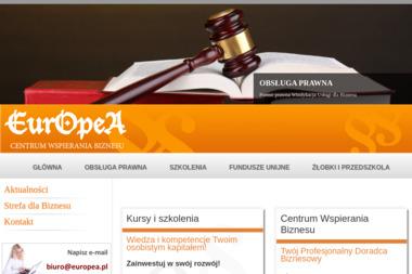 Centrum Wspierania Biznesu Europea Sp. z o.o. - Adwokat Spraw Karnych Wrocław