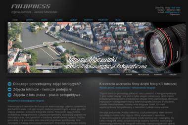 Zdjęcia lotnicze. Fotopress. Janusz Moczulski - Agencje fotograficzne Katowice