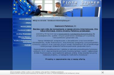 Piotr Stuper, BIZNES PLANY, ANALIZY FINANSOWE - Leasing Poznań