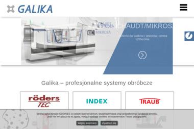 Galika. Sp. z o.o. Technologie i urządzenia przemysłowe - Urządzenia precyzyjne Warszawa