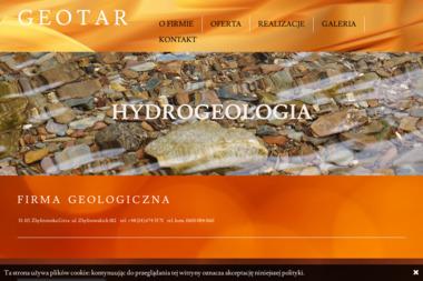 Geotar. Firma geologiczna. Bogusław Kaczor - Przekroje Geologiczne Zbylitowska Góra
