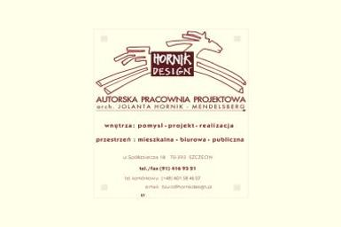 Hornik Design. Autorska pracownia projektowa. Projektowanie i dekoracja wnętrz - Projektowanie Mieszkań Szczecin