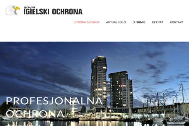 Igielski Ochrona Igielpol. Agencja ochrony, ochrona mienia, imprezy masowe - Monitoring Gdynia