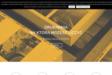 Intrograf. Drukarnia, introligatornia. Buss Ewa, Buss Jarosław - Ulotki z Perforacją Łask