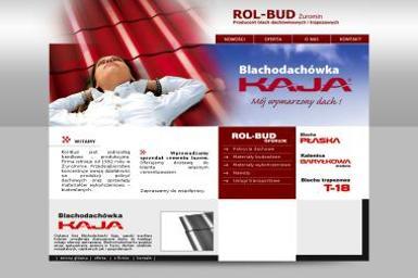 Rol-Bud. Producent blachodachówki i blach trapezowych - Pokrycia dachowe Żuromin