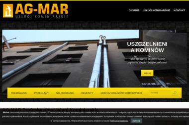 Ag-Mar. Usługi kominiarskie, uszczelnienia. Wkłady kominowe - Kominki Ogrodowe Pabianice