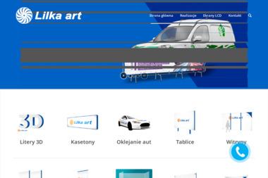 Lilka Art. Reklamy świetlne, przestrzenne, wielkoformatowe - Identyfikacja wizualna Olsztyn