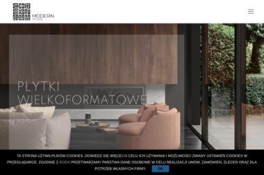 Modern Studio. Wyposażenie łazienek. Włoskie płytki ceramiczne i gresowe - Wyposażenie łazienki Częstochowa