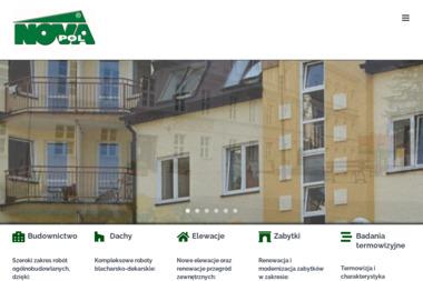 Novapol. Sp. z o.o. Docieplenia ścian, termoizolacja i hydroizolacja dachów - Konstrukcja Dachu Toruń