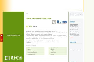 Bema. Producent okien, drzwi i witraży - Okna PCV Świebodzin