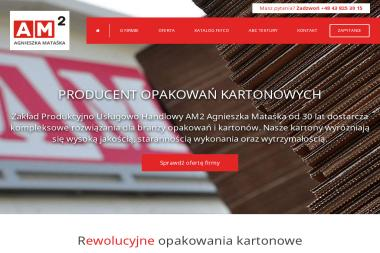 AM. ZPUH. Antoni Mataśka. Producent opakowań z tektury falistej i litej - Opakowania Termiczne ZDUŃSKA WOLA