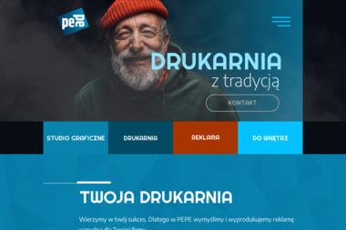 Grupa Pepe drukarnia wielkoformatowa - Naklejki Rabka Zdrój