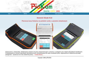 Pio-Kom. Sp. z o.o. Doradztwo, sprzedaż, serwis kas fiskalnych i systemów komputerowych - Urządzenia dla firmy i biura Kościan
