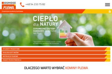Plewa Polska. Sp. z o.o. Systemy kominowe - Kominki Poznań