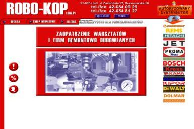 Robo-Kop - Narzędzia Łódź