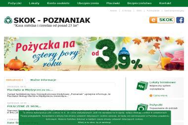SKOK Poznaniak. Spółdzielcza Kasa Oszczędnościowo - Kredytowa - Doradztwo Kredytowe Poznań