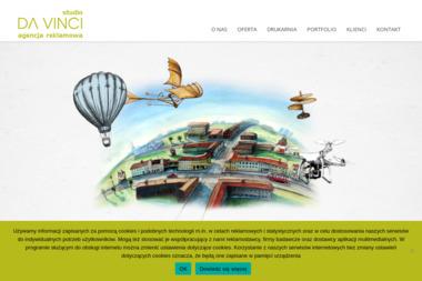 Studio da Vinci. Agencja reklamowa. Sp. z o.o. Obsługa reklamowa - Copywriter Bydgoszcz