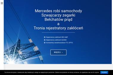 Tronia Sp. z o.o. Rejestratory zakłóceń sieciowych dla energetyki - Zaopatrzenie w energię elektryczną Warszawa
