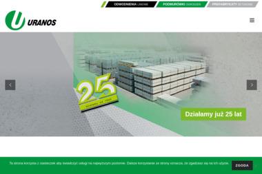 Uranos. Producent podmurówek betonowych i systemów odwadniających - Bramy garażowe Mysłowice