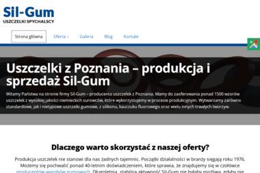 Sil-Gum Uszczelki. Spychalski & Miodowicz - Gumy i produkty z gumy Baranowo gm. Tarnowo Podgórne