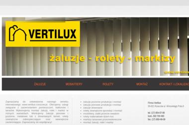 Vertilux. Producent żaluzji - Rolety Zewnętrzne Rzeszów