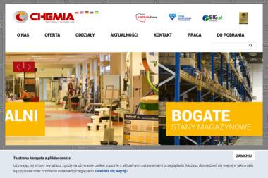 """""""CHEMIA"""" Sp. z o.o. - Skład budowlany Gdańsk"""
