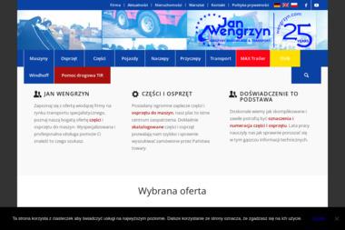 PHU JAN WENGRZYN - Transport samochodów Zagrodno