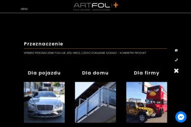 ARTFOLplus - Przyciemnianie Szyb w Samochodzie Gdańsk