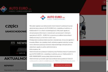 Auto Euro SA - Części i podzespoły Lublin