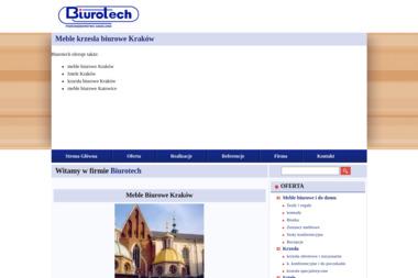 Biurotech. Meble biurowe i komputerowe - Meble biurowe i do pracowni Kraków