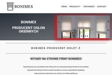Bonimex. Producent żaluzji, rolet, moskitier - Rolety Velux Czyżowice