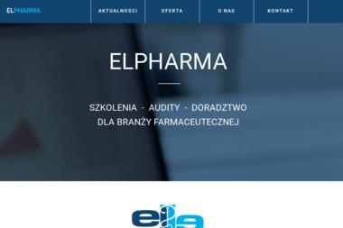 Elpharma SC. Doradztwo, produkcja farmaceutyczna - Apteki Kraków