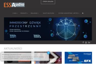 Ess Audio Sp. z o.o. Wyłączny dystrybutor Harman Pro Group - Nagłośnienie, oświetlenie Łomianki