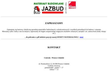 Jazbud. Sp. z o.o. Hurtownia materiałów budowlanych - Pokrycia dachowe Pruszcz Gdański