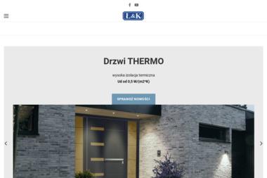 Ł & K. Producent okien i drzwi - Drzwi Łask