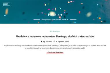 Nova-Art. Dystrybutor. Art. dekoracyjne, upominki, ozdoby - Kosze prezentowe Szczecin